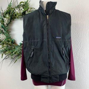 Patagonia Black Zip Vest. Size Medium